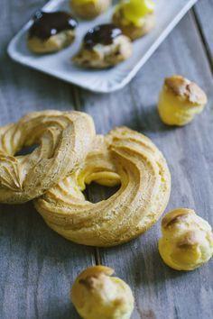 Pasta choux: La #pastachoux è leggera e perfetta per le farciture più gustose, dolci e salate... ai #bignè alle #zeppole, ecco la mia ricetta!