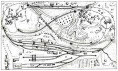 N Scale Train Layout, N Scale Trains, Model Train Layouts, Model Railway Track Plans, Train Room, Train Tracks, Model Trains, Diorama, Planer