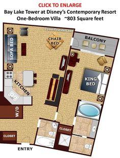 Review Bay Lake Tower At Disney S Contemporary Resort Disney Villas And Lakes