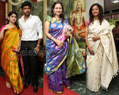 Tamil Actresses Traditional Sarees   Saree Blouse Patterns