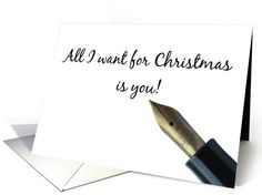 Girlfriend - All I want for Christmas is you! card
