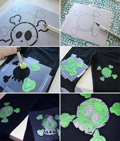 6 Fun & Simple Projects For Everyday Life - Handmade Charlotte Diy Projects To Try, Sewing Projects, Simple Projects, Sewing Ideas, Diy Crafts For Kids, Fall Crafts, Diy Day Of The Dead, I Spy Diy, Diy Clothes Videos