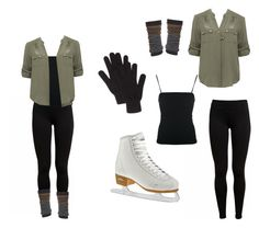 """""""for ice skating with friends"""" by lovesing ❤ liked on Polyvore"""