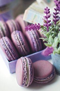 ☆ Purple Macaroons