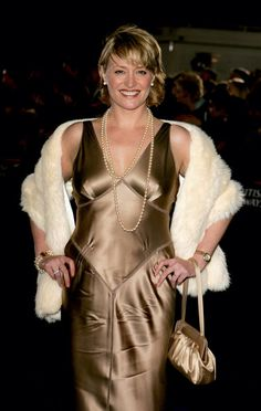 Laurie Brett (1) she's sexy in that satin
