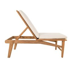 #3006 Lounge Chair in Teak – liefalmont