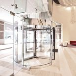 1000-A Series Automatic Revolving Door from Crane