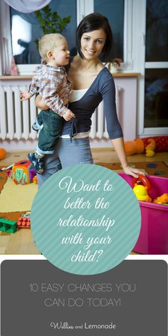 Better your relationship with your child with these easy steps. Find it over at http://www.welliesandlemonade.com/10-ways-become-better-parent-today