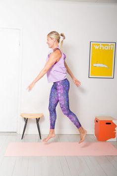 Kotitreeniohjeet - Rasvanpolttojumppa 20 min | Keventäjät.fi Sporty, Fitness, Pants, Health, Style, Fashion, Gymnastics, Moda, Trousers