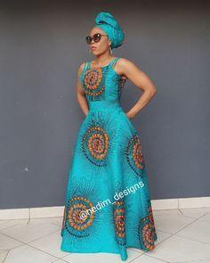 African Print Maxi Dress @ nedim_designs By Diyanu Latest African Fashion Dresses, African Print Dresses, African Dresses For Women, African Attire, African Wear, Ankara Fashion, African Style, African Women, Dress Fashion
