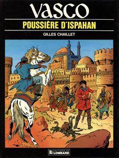 Couverture de Vasco -9- Poussière d'Ispahan