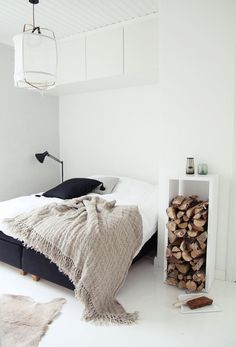 ... decor decoration minimalism minimal Wood deco nordic scandinavian Nordic Christmas Decor ideas - diychristmasdecorations.com