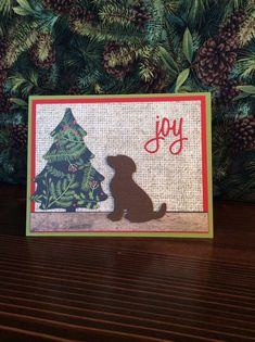 Cat Christmas Cards, Christmas Animals, Christmas Dog, Christmas Projects, Holiday Cards, Easy Cards, Dog Cards, Stamp Sets, Christmas Inspiration