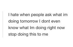 But seriously though