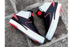 "Air Jordan 2 ""Infrared Cement"" – Detailed Images http://www.equniu.com/2014/01/09/air-jordan-2-infrared-cement-detailed-images/"