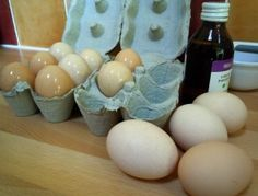 the pioneers used to oil their eggs to keep them fresh for months without refrigeration. This is one method that they used. VERY interesting.
