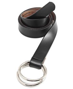 Genuine Leather Belt - Black Black Belt, Leather, Accessories, High Waist, Gender, Metallic, Eyes, Products, Fashion