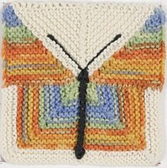 Ravelry: Modular Butterfly Square pattern by Janis Higgs