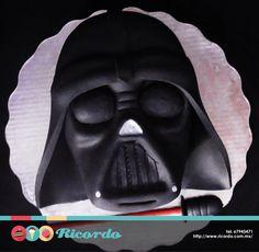 Ricordo Pasteles with Star Wars: The Clone Wars and 6 others. 4 hrs · #MiercolesDeGaleria #DarthVader Pastel de fondant de la máscara del legendario Darth Vader #catalogoRICORDO #fondant #fondantcake #StarWars www.ricordo.com.mx
