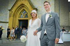 Zeremonie findet mit vielen Gästen in der Stiftskirche statt +++  DSC-Kapitän Klos heiratet kirchlich