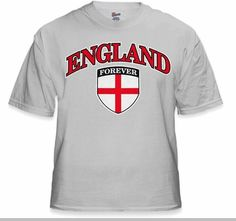 2db0c9ffe6d International Soccer Shirts - England Crest T-Shirt (Mens)