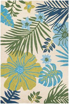 OUTDOOR   Couristan Covington Summer Laelia Rugs | Rugs Direct