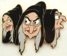 3 faces of the Hag pin from Fantasies Come True