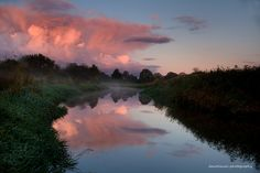Beautiful River Scene - Diffelen, Overyssel - the Netherlands