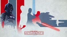 Star wars battlefront 2, light, darth vader, artwork wallpaper