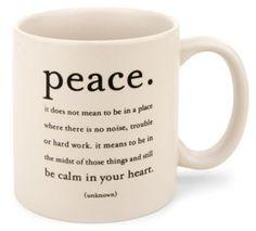 peaceful coffee