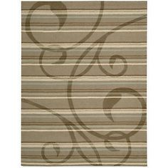 Nourison Elements Area Rug - Swirl/8' x 11' at HSN.com