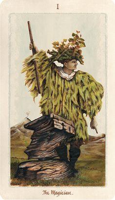 Pagan Otherworlds Tarot, The Magician.  #tarot #tarotcards #wiccan #pagan