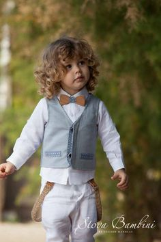 Baptism Clothes For Boy, Baptism Outfit, Boy Christening, Baby Baptism, Baptism Ideas, Little Boy Fashion, Baby Boy Fashion, Kids Fashion, Boys Summer Outfits