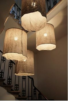 kreative handgemachte Lampen bettwäsche idee