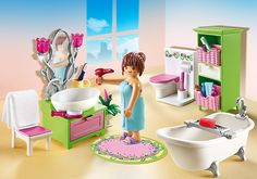 Vintage Bathroom - 5307 - PLAYMOBIL® USA