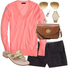 """Pretty in Pink"" by classically-preppy on Polyvore"