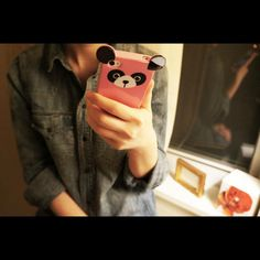 Panda case, for my future Iphone ;)