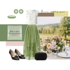 """Summer wedding guest"" by namekristy on Polyvore"