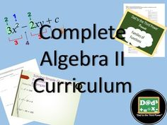 This is a collection of all 12 units from my algebra 2 folder.  I have bundled everything into one curriculum folder.  The units are separated into different folders for ease of use.  Each unit comes with classwork or homework suggestions, power points, guided notes, quizzes and a unit exam.