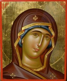 Virgin Mary Painting by Daniel Neculae - Virgin Mary Fine Art Prints and Posters for Sale Virgin Mary Painting, Virgin Mary Art, St Constantine, Constantine The Great, Byzantine Icons, Byzantine Art, Religious Icons, Religious Art, Madonna