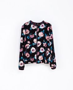 Image 7 of FLORAL PRINT JACKET from Zara