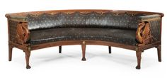 A Russian Neoclassical carved mahogany corner sofa<br>circa 1820 | Lot | Sotheby's M-R