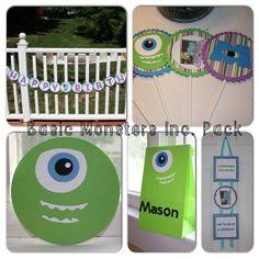 Basic Monsters Inc Birthday Pack