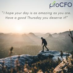 Want to know the secret towards a successful business? Get updated information about your business standing with experienced outsourced CFO. Oprah Winfrey, Good Thursday, Business Advisor, Thoughts, Photo And Video, Instagram, Live Life, Living Alone, Law Of Return