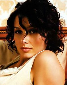 Image Detail for - Curly Hair Short Style. Bridget Moynahan. Short Dark Brown Curly Hair ...  I want my hair to do this. Always. Love this look.