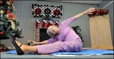 Bernice Bates is a 91 year old yoga teacher