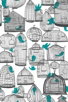 I would definitely get a bird cage tattoo. Just one cage though.
