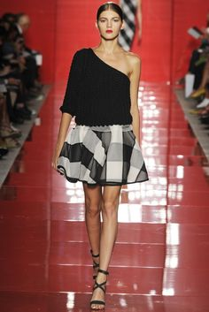 les copains Milan Fashion Week Spring/Summer 2014 Day 3 Recap | Versace, Sportmax, Blumarine + More