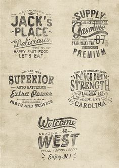 OLD AMERICAN DREAM on Behance