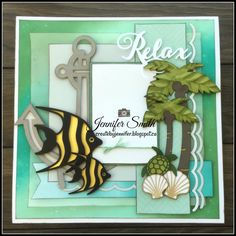 Create By Jennifer: Relax - This is the Life Beach Scrapbook Layouts, Vacation Scrapbook, Scrapbook Borders, Scrapbook Sketches, Scrapbook Albums, Scrapbooking Layouts, Scrapbook Paper, Scrapbook Blog, Create Birthday Card